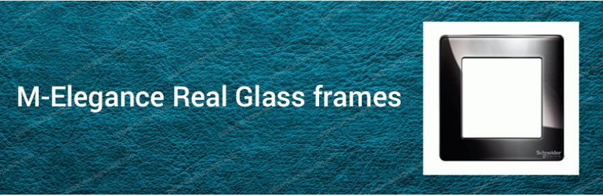 M-Elegance Real Glass frames
