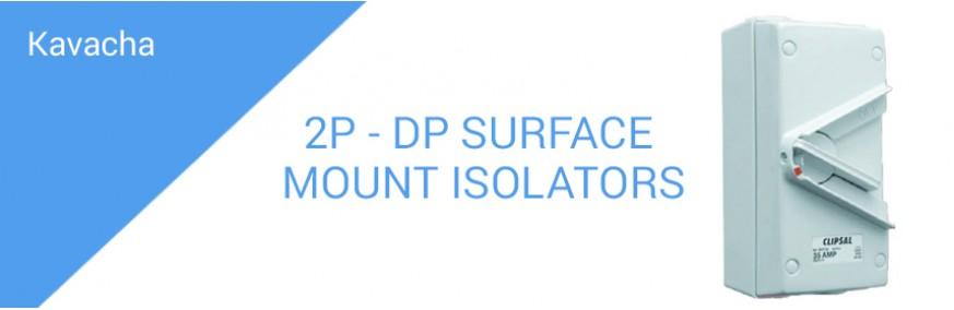 2P - DP SURFACE MOUNT ISOLATORS