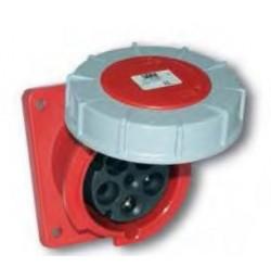 63 Amp 3 Pole Flanged Socket IP67