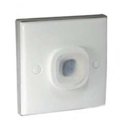 IP54 1 Gang Flush Plate with Surround (87mm x 87mm)