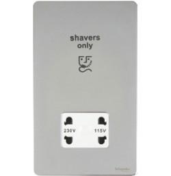 115/230 Dual Voltage Shaver Socket