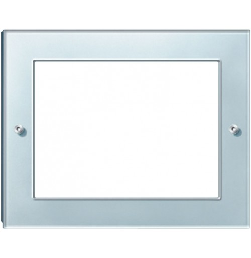 "Real glass frame for IP touch panel 10"", Diamond silver"