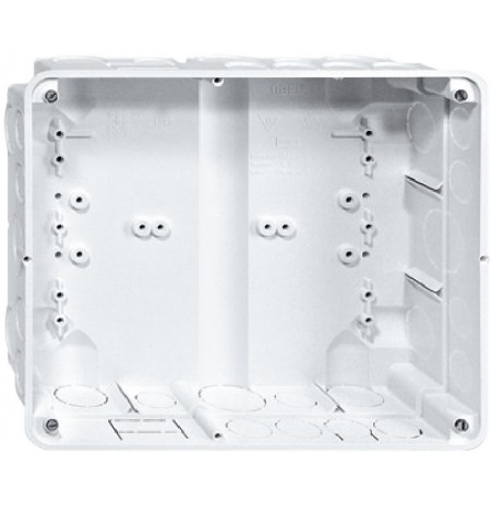 Flush‑mounted mounting box for IP touch panel 10""