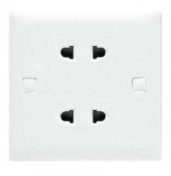 10A 2 Pin Twin Universal Socket