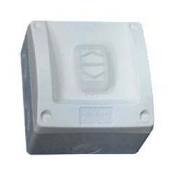 20A 250V 1 Gang 1/2 Way Surface Switch