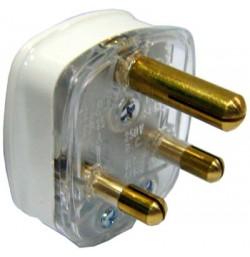 15A 3 Pin Round Plug