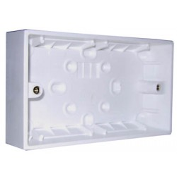 2 Gang Surface Box (147 x 87mm)