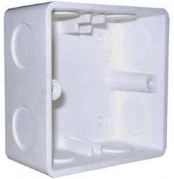 1 Gang Flush Box (87 x 87mm)