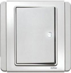 10AX 250V 1 Gang 1 Way Switch Horizontal