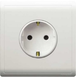 16A 2 Pin + Earth Schuko Socket