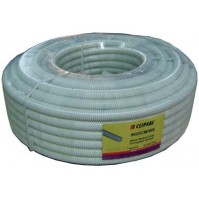 20mm PVC Corrugated Conduit (50mtr), White