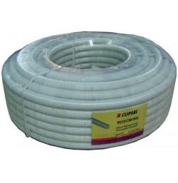 20mm PVC Corrugated Conduit (50mtr), White